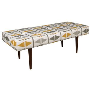 Midcentury Upholstered Benches by Walter E. Smithe Furniture Inc/The Mark