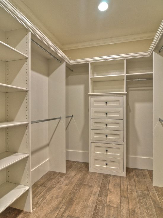 Small walk in closet design closet love pinterest Walk in bedroom closets