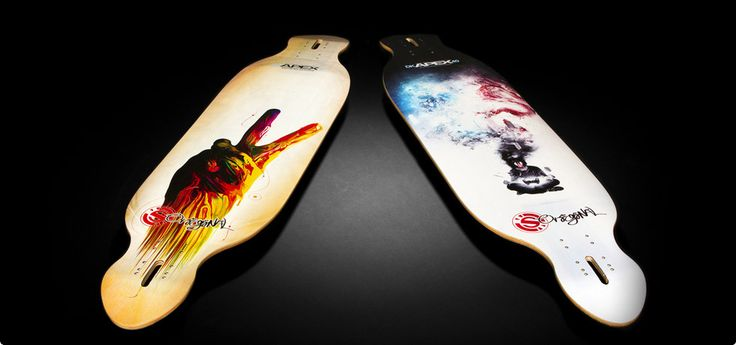 Longboards...for cruising around town.