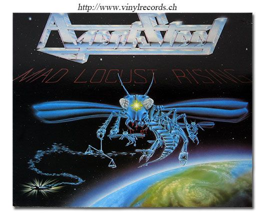 Agent Steel band | AGENT STEEL - Mad Locust Rising American Speed Metal LP - Vinyl ...