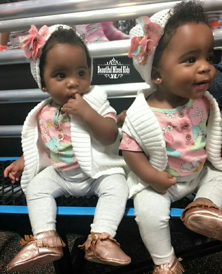 Chasiti & Chelsi - 10 Months • African American & Native American ❤❤