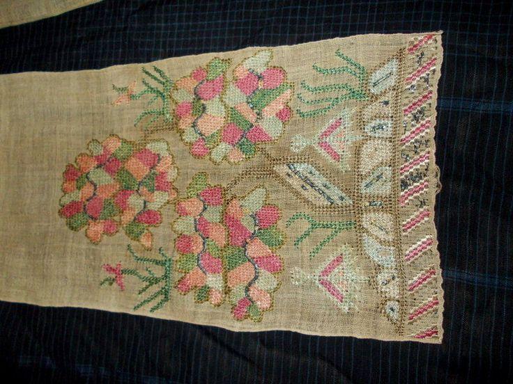 ottoman embroidery sash rare motif 4