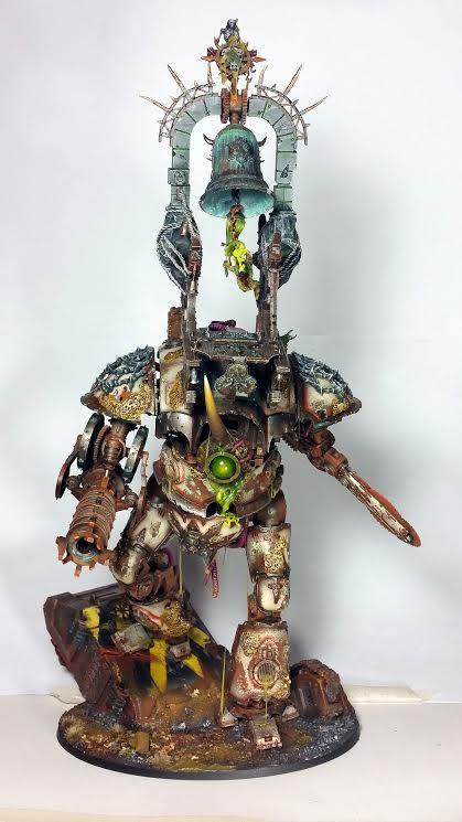 Nurgle's Knight - Chaos Titan Conversion - Spikey Bits
