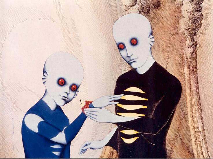 Roland Topor. Fantastic Planet - La Planète sauvage, 1973.