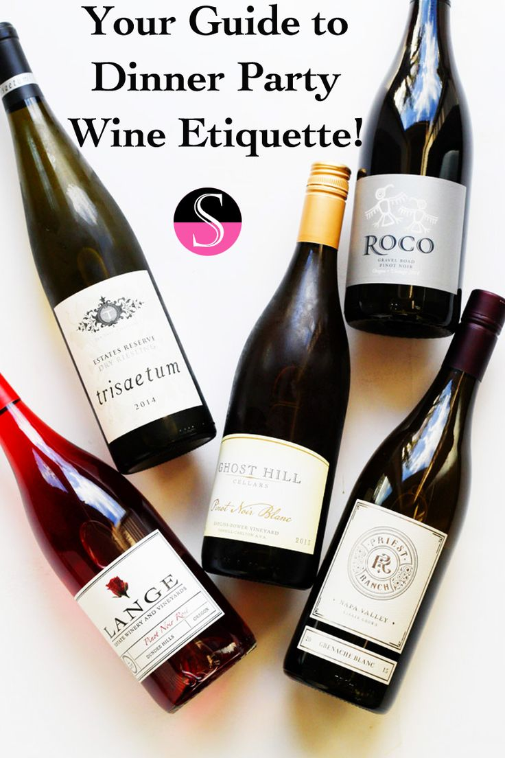 """If you've ever been unsure about proper etiquette for giving and receiving wine at a dinner party you need to read this. Seriously, before Thanksgiving! As the host and the guest the """"rules"""" are different, so we'll spell it out, once and for all! Wine Etiquette 