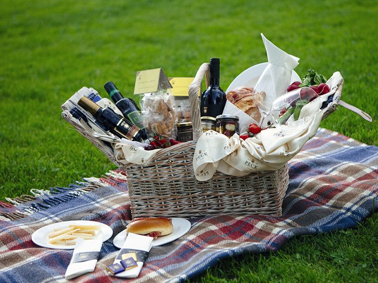 Gourmet picnic on the countryside