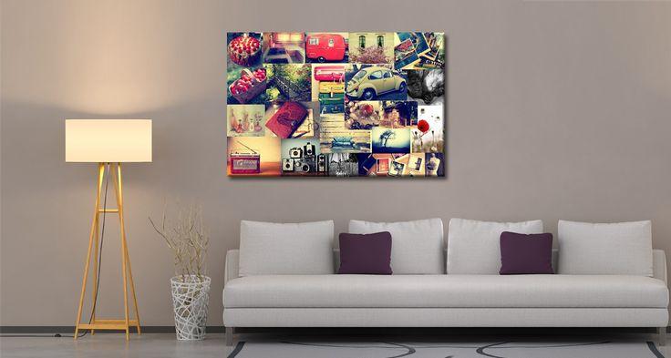 ΚΟΛΛΑΖ ΦΩΤΟΓΡΑΦΙΩΝ ΣΕ ΚΑΜΒΑ  Εκτυπώστε τις αγαπημένες σας φωτογραφίες σε έναν καμβά κολλάζ!   Τιμή: Aπο 35,00 €