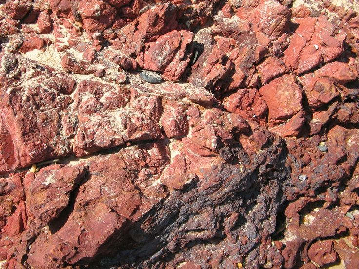 this is a rock at Red Rock N.S.W