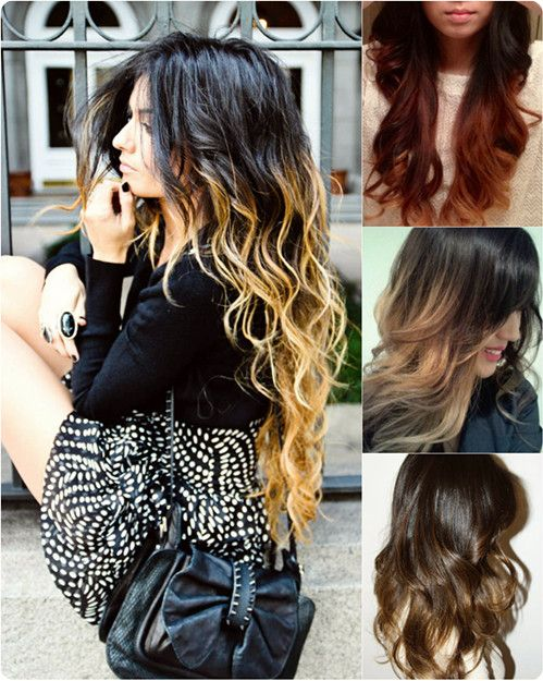 It is elegant black and blonde ombre hair color 2013. In the article Top 7 Best Black Ombre Hair Color Ideas 2013, there are seven black ombre hair color for you to choose.