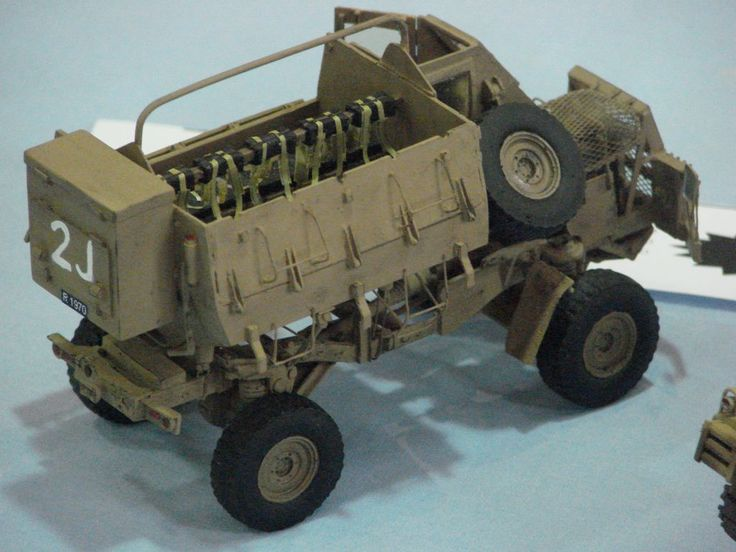 The South African Buffel... | Military Modelling