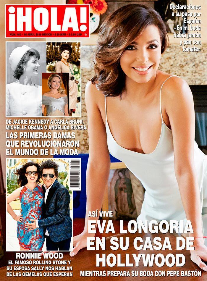 En ¡HOLA!: Así vive Eva Longoria en su casa de Hollywood, mientras prepara su boda con Pepe Bastón