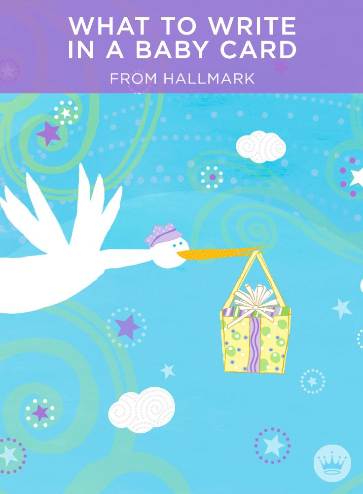 New Baby Wishes: What to Write in a Baby Card | Offer heartfelt baby congratulations with these ideas and writing tips from Hallmark card writers. Includes more than 60 message ideas, from baby shower wishes to twins to adoption. #Hallmark #HallmarkIdeas #WhatToWriteInACard