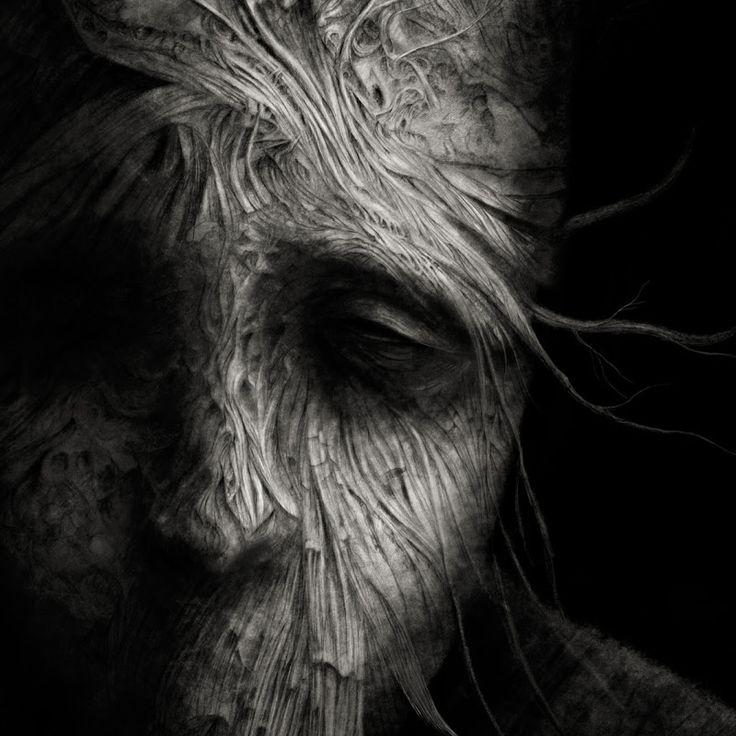 Hrôzostrašné a depresívne postavy plné strachu a temnoty od talentovaného maliara  #Zdzisława #Beksińskieho