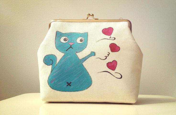 "Poseta Clutch ""Cat Obsession"""