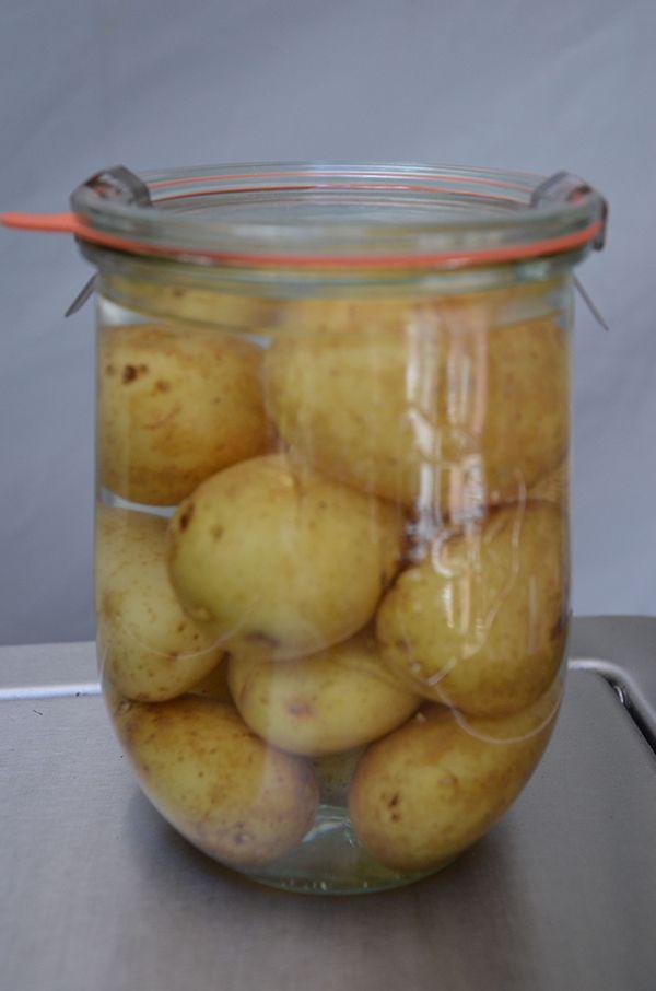 Aardappelen inmaken
