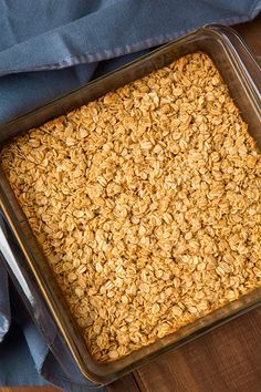 Amish Baked Oatmeal | Cooking Classy. Loved this when I was little!