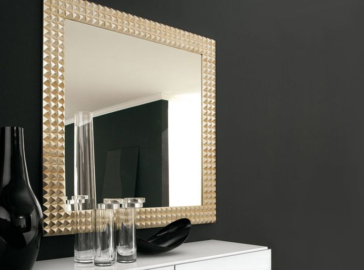 egypt square wall mirror by cattelan italia