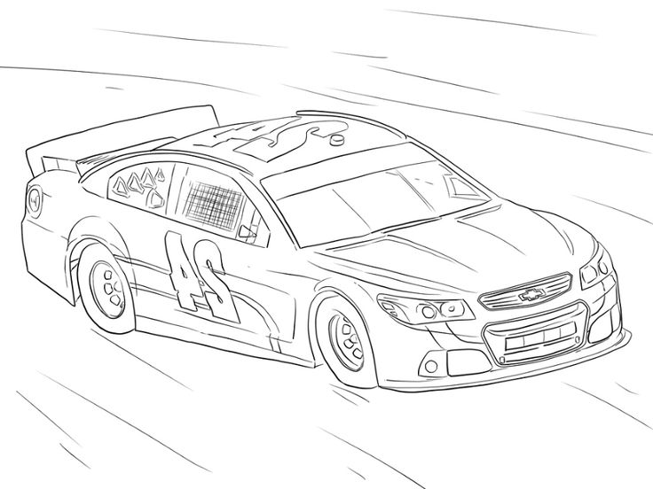 Nascar Coloring Pages K5 Worksheets in 2020 Coloring