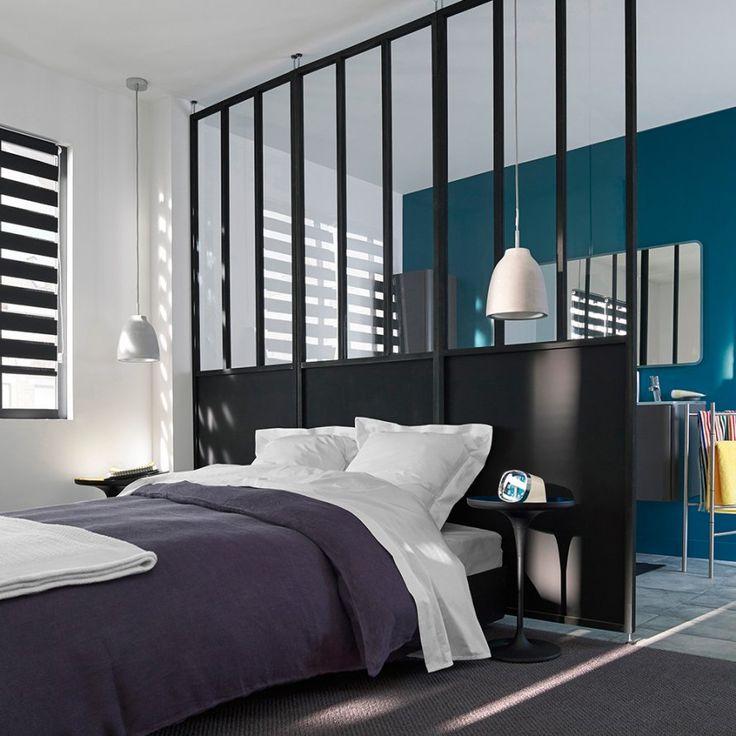 une cloison amovible esprit atelier castorama. Black Bedroom Furniture Sets. Home Design Ideas