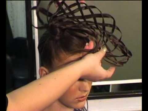 ▶ прически из длинных волос: Мастер класс - YouTube