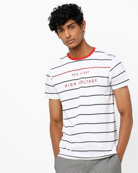 f89805ace4bdae Buy White Tshirts for Men by AJIO Online   Ajio.com   ajio in 2019 ...