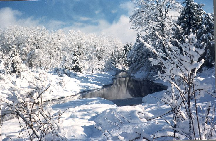 Image result for winter in the poconos