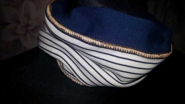 Różnie różniście i z serduchem  Sailor infinity scarf