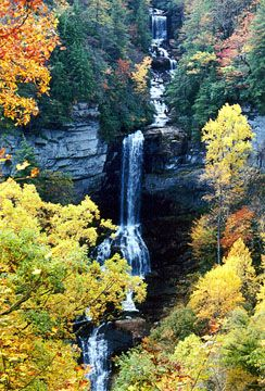 Hike Raven Cliff Falls near Greenville, SC