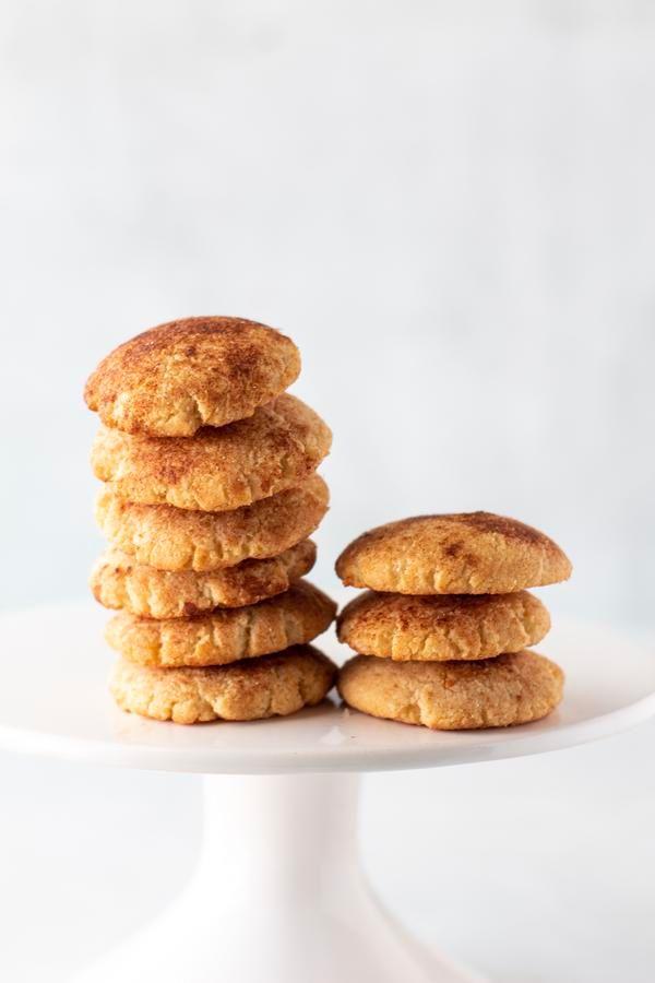 BEST Keto Snickerdoodle Kekse! Low Carb Snickerdoodle Cookie Idea – Schnelles und einfaches Rezept für eine ketogene Diät – komplett ketofreundlich