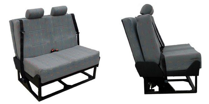 Crash Tested Foldaway Van Bed Seat C W Seat Belts Attic