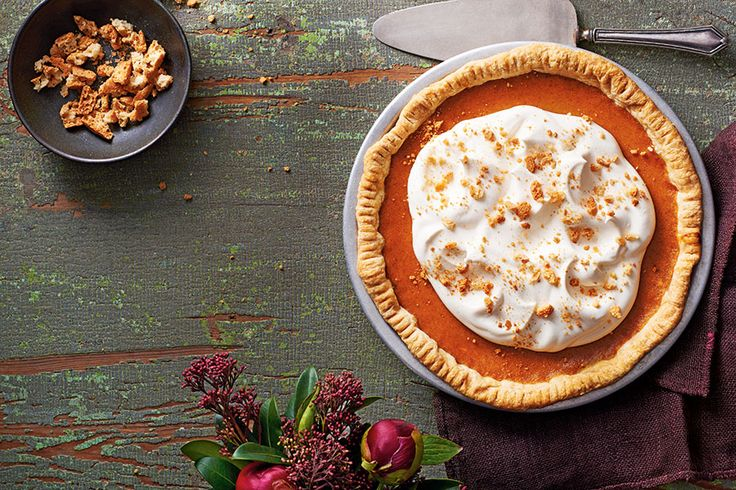<strong>Choosing between pie and cheesecake is the eternal dessert dilemma; we've melded the two together for the ultimate fall treat. Use a fork to crimp the crust and skip the time-consuming process of fluting by hand.</strong>