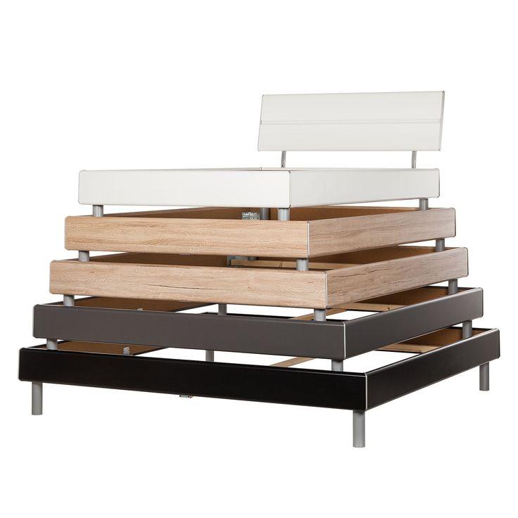 Bettgestell Mavi-Base I - 180 x 200cm - Mit Kopfteil - Alpinweiß, Rauch Select Jetzt bestellen unter: https://moebel.ladendirekt.de/schlafzimmer/betten/?uid=8f143e06-0202-5107-8215-b51ee93caf37&utm_source=pinterest&utm_medium=pin&utm_campaign=boards #möbel #select #betten #schlafzimmer #rauch
