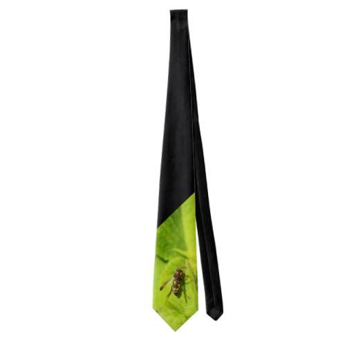 Vespidea paper/Potter wasp tie.
