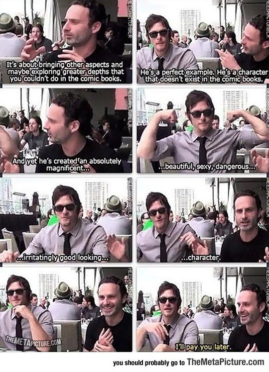 It's Not Easy To Describe Daryl Dixon