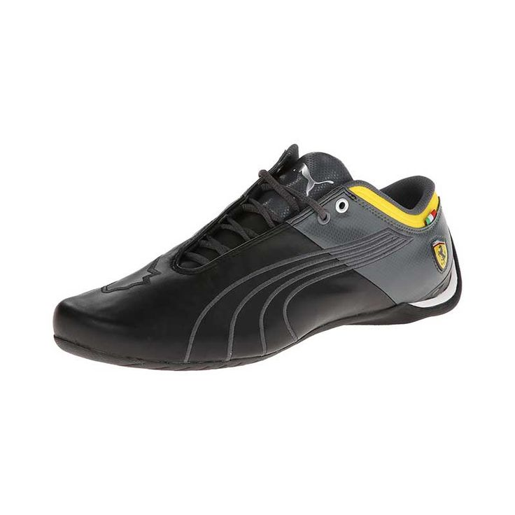 Puma Future Cat M1 SF Catch Black Dark Shadow Vibrant Yellow Mens