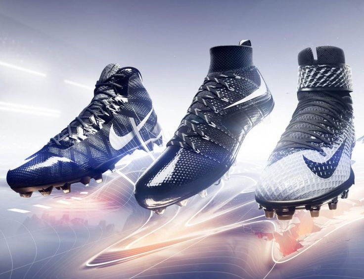 NIKE introduces 3 new american football cleats