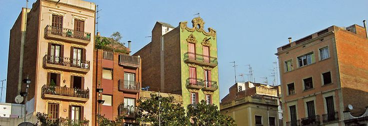 Grácia district of Barcelona- traditional charm and modernity- 6th district