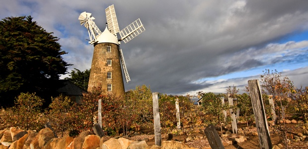 Flour Mill at Oatlands, Tasmania