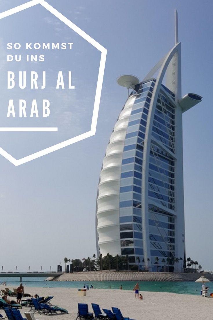 Burj al Arab - Alle Optionen zur Besichtigung