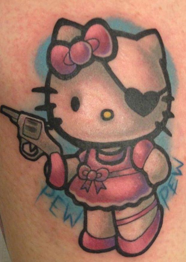 Love my Hello Kitty tattoo