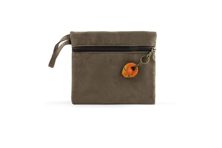 Bax & Bay  Luxury accessories for parents Coffee Suede Clutch  www.baxandbay.com www.alegremedia.com #alegremedia