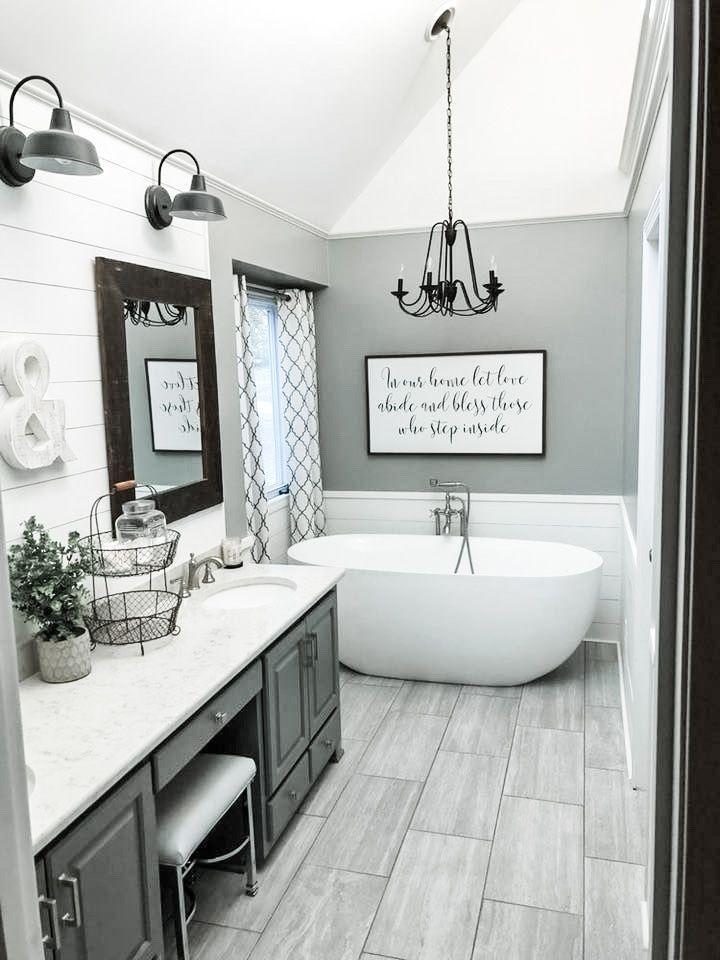 The Best Farmhouse Decor On A Budget Diy Darlin Bathroominterior Budget Darlin Decor Diy Farmhouse Hotelinteriors Kitc In 2020 Badezimmer Wohnen Ideen
