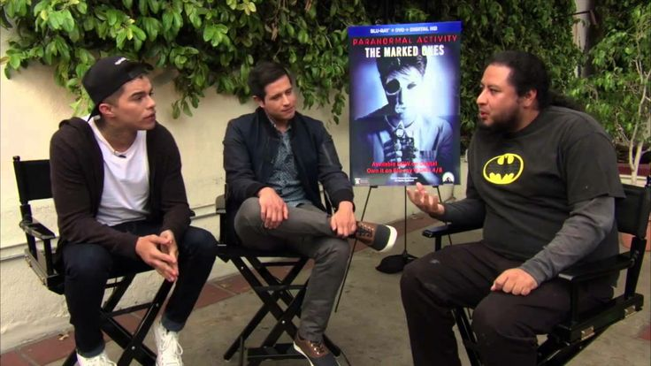 Paranormal Activity: The Marked Ones - Andrew Jacobs and Jorge Diaz Interview