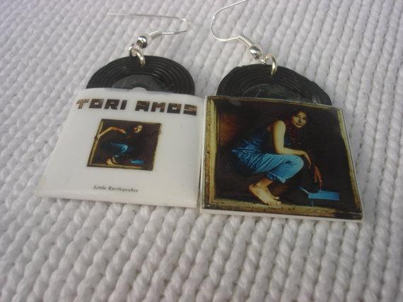 tori amos  LITTLE EARTHQUAKES vinyl record by andreachalari, $13.00