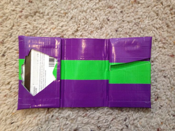 Joker duct tape wallet