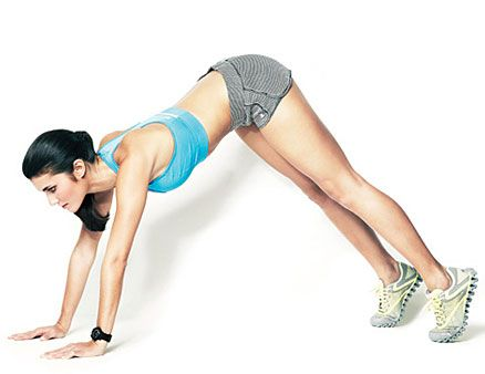 "This toning move is called the ""inchworm"", and it WILL get you in shape in two weeks."