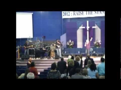 "Lifegiver Band: When God prompts us, we follow his lead..... not our own !!! During our final night of three after opening for Creflo, Bill Winston, and here for Kenneth Copeland at a Faith Conference in Danville Va, April stops ""Got to Praise"" to give some words from God to the people.......they might just be for you too !!!"