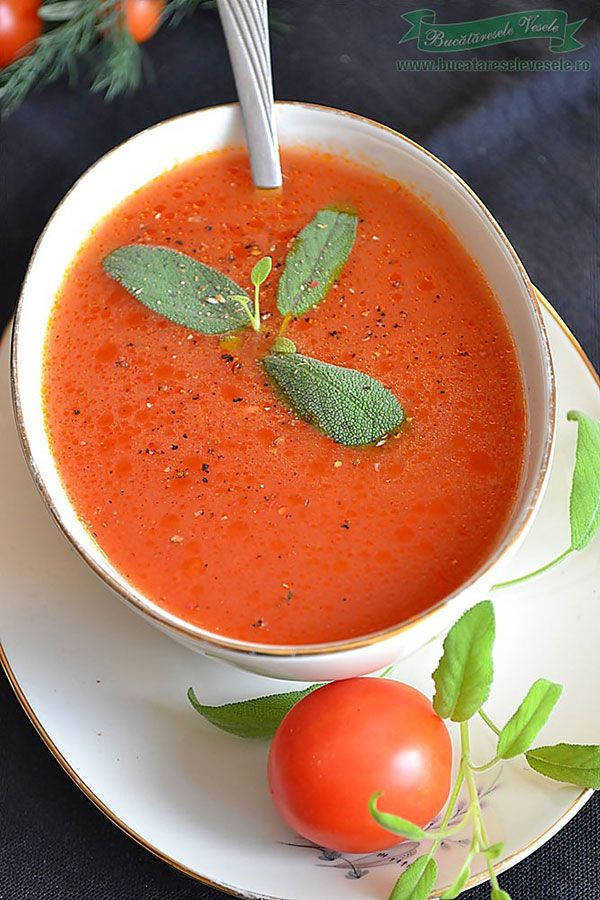 O supa de rosii tocmai buna in zilele de Post. Cu siguranta iti va fi pe plac aceasta supa. Simplu de preparat si satioasa.