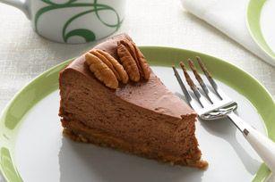 Gâteau au fromage tortue au chocolat