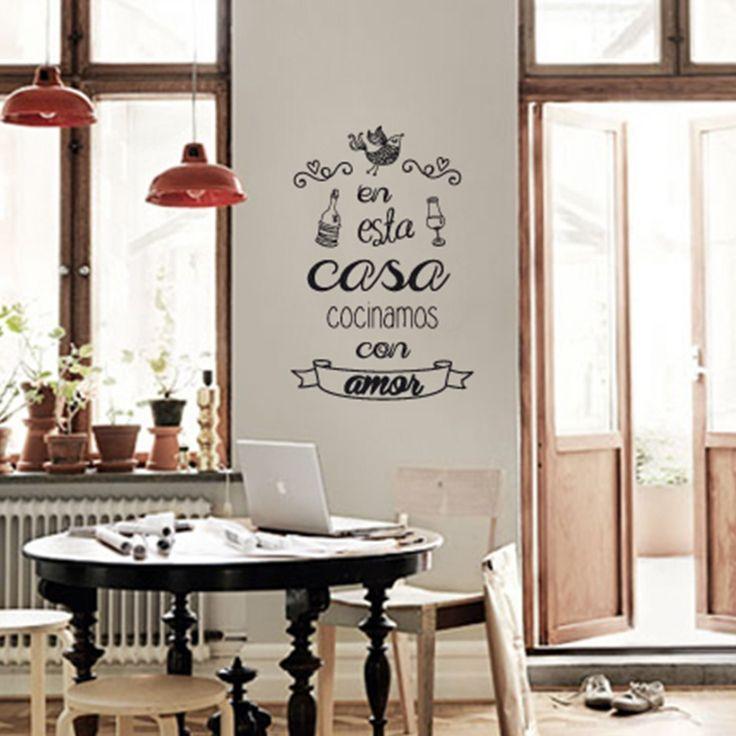Gorsh.net   Vinilo En esta casa cocinamos con amor
